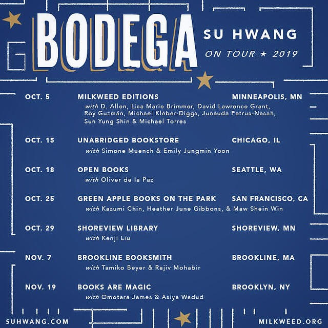 Bodega blue tour graphic